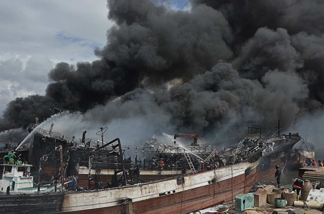 Police investigate Benoa fire