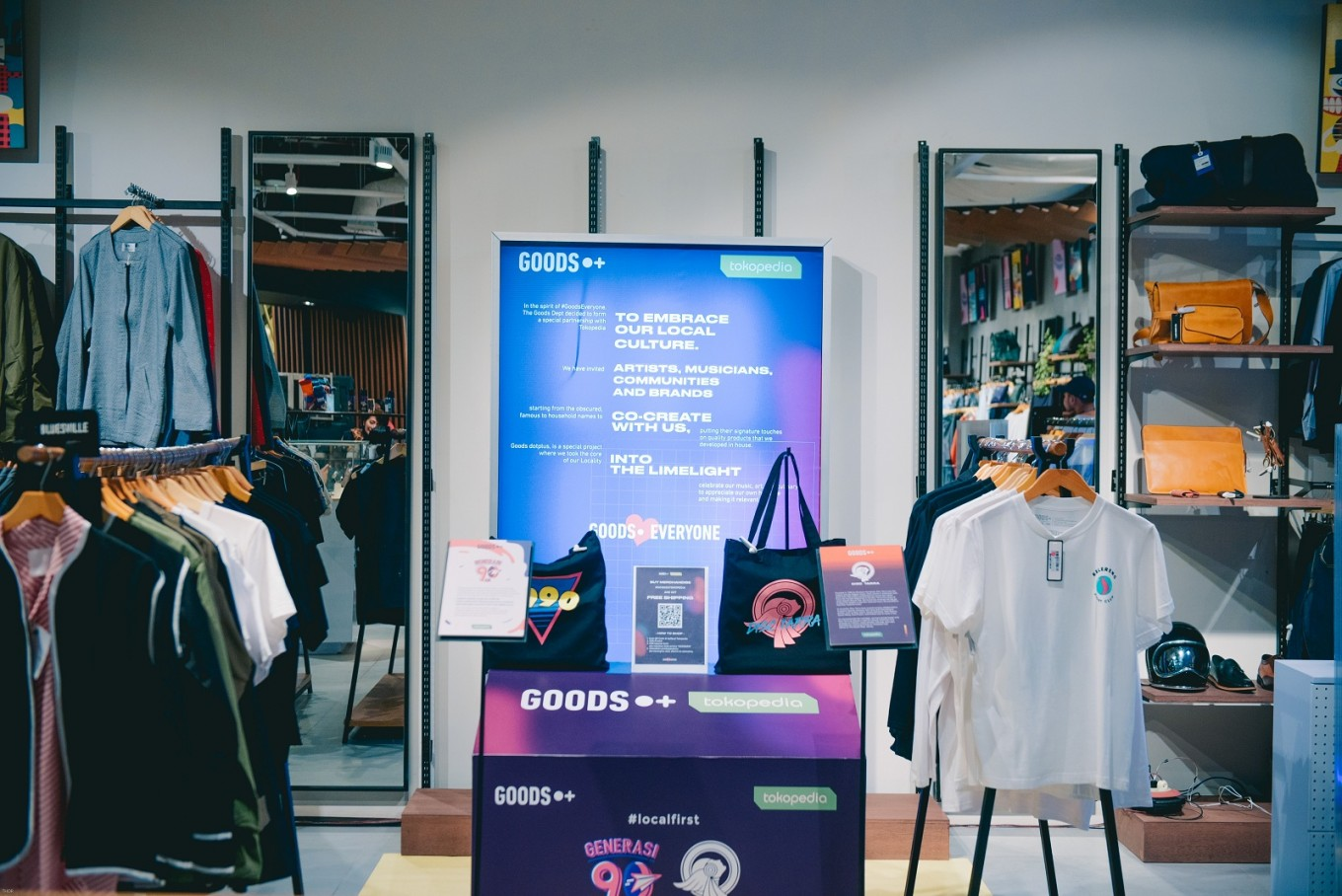 The Goods Dept., Tokopedia collaborate to highlight local culture