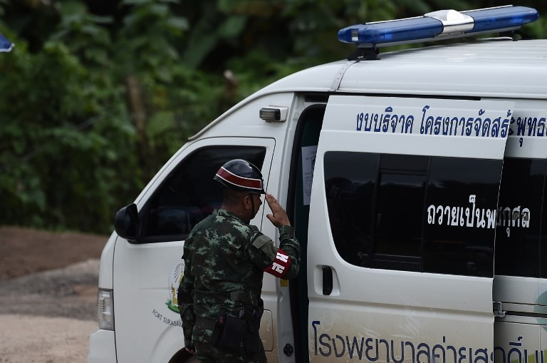 11 out of Thai cave, hopes rise all will survive