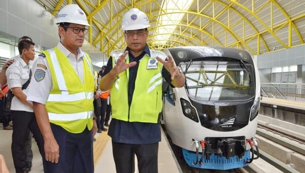 First LRT to be up and running on July 15 in Palembang