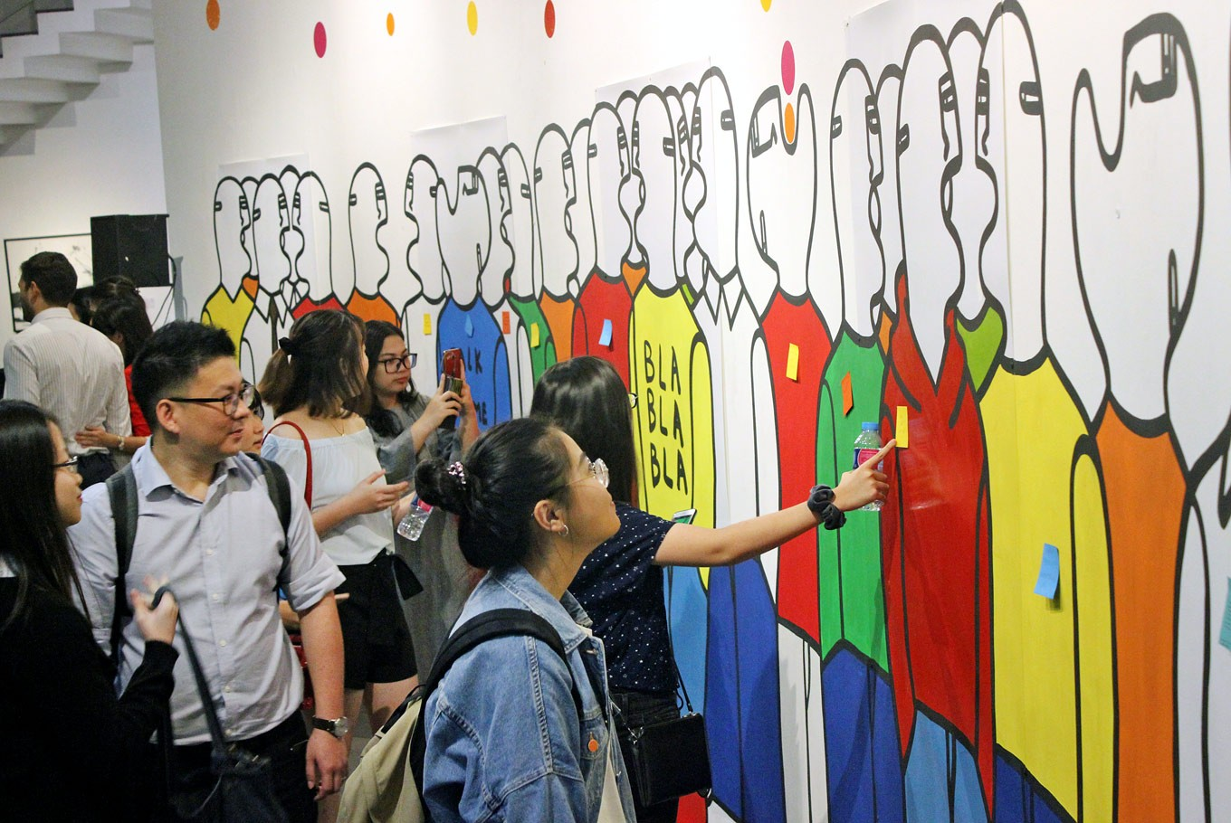 Fabrizio Dusi: Debuts his artwork in Asia for the first time