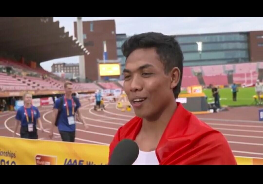 Indonesian sprinter Lalu Zohri wins gold at IAAF World U20 Championships