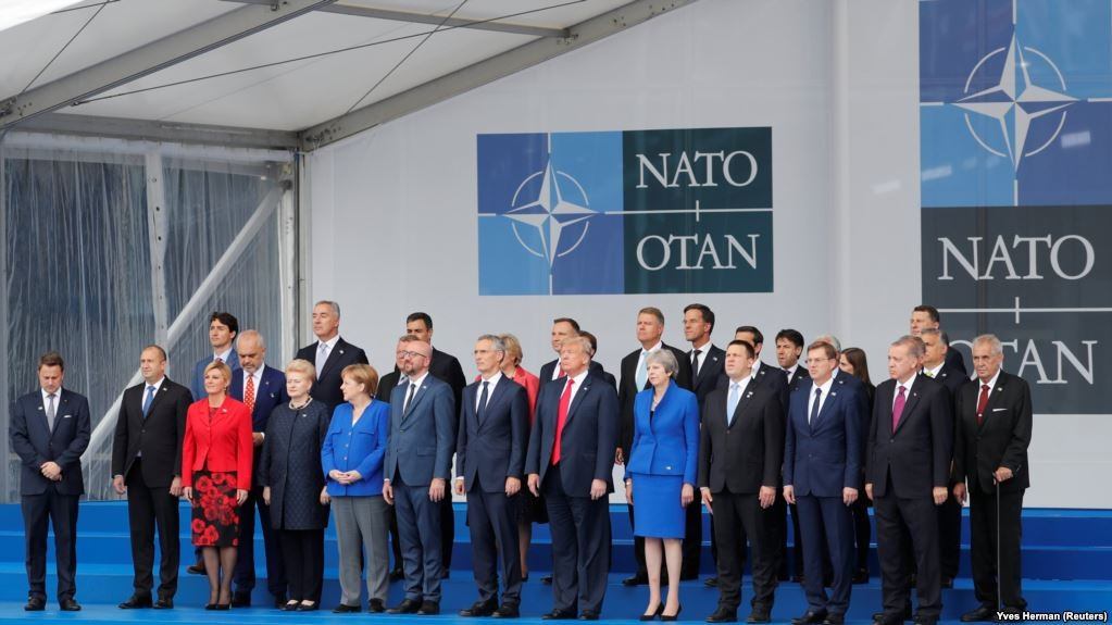 Trump claims victory after forcing NATO crisis talks