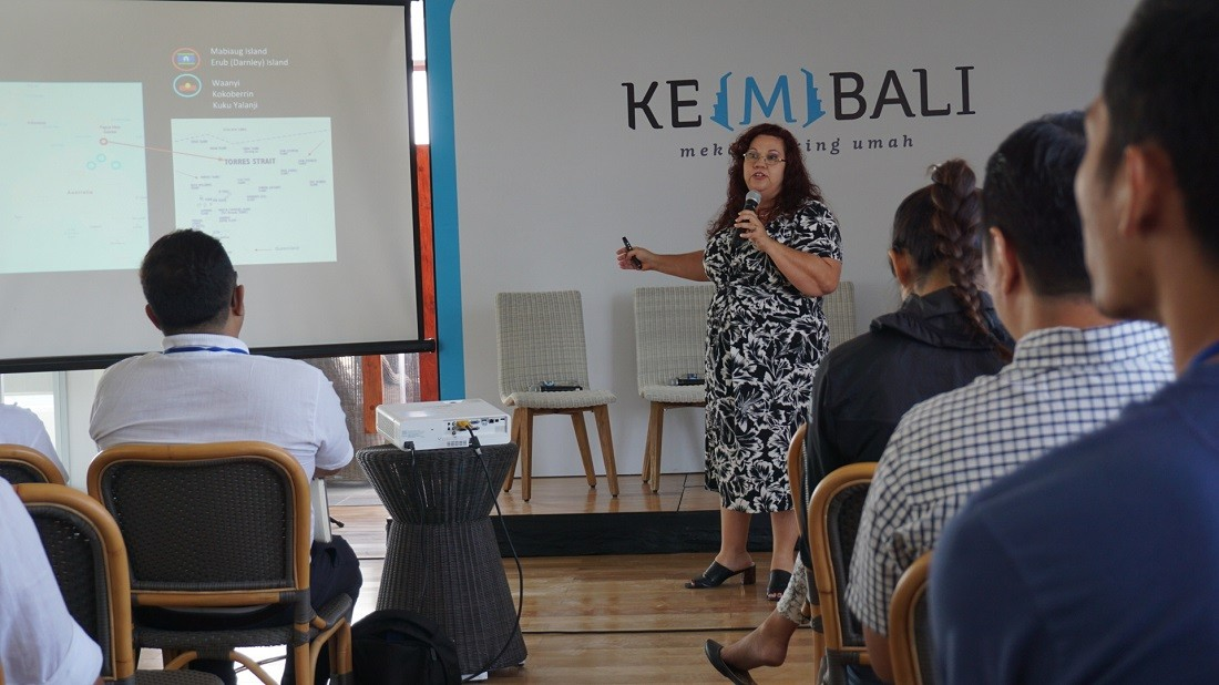 Australian social entrepreneur shares experience in Bali