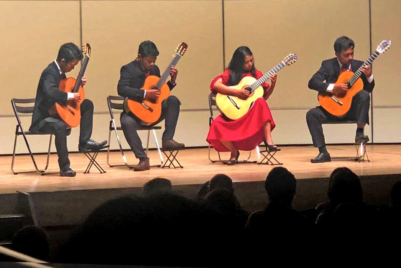 Indonesia wins big at classical guitar competition in Japan