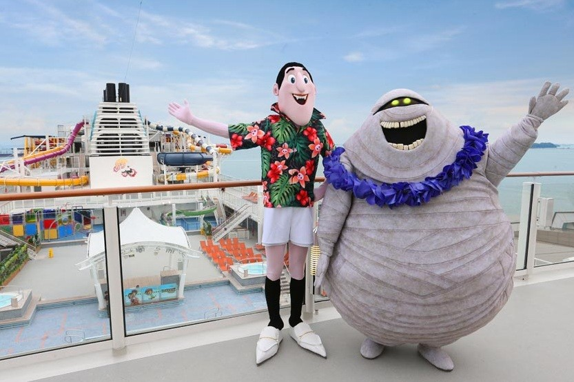 Dream Cruises offers family fare with 'Hotel Transylvania' clan