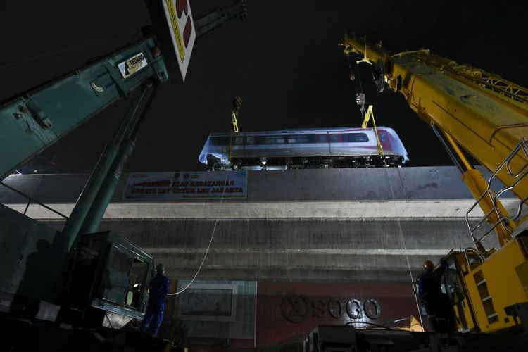 LRT Jakarta to begin operation Aug. 10, official says