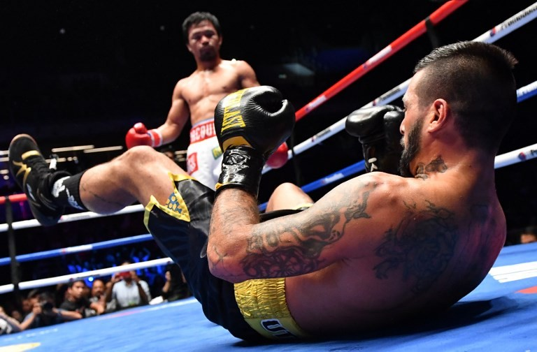 Philippines erupts in joy after Pacquiao win