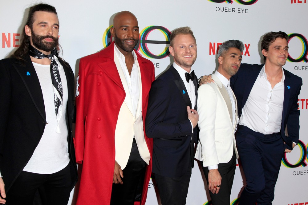 39 queer eye 39 to return for third season entertainment the jakarta post. Black Bedroom Furniture Sets. Home Design Ideas