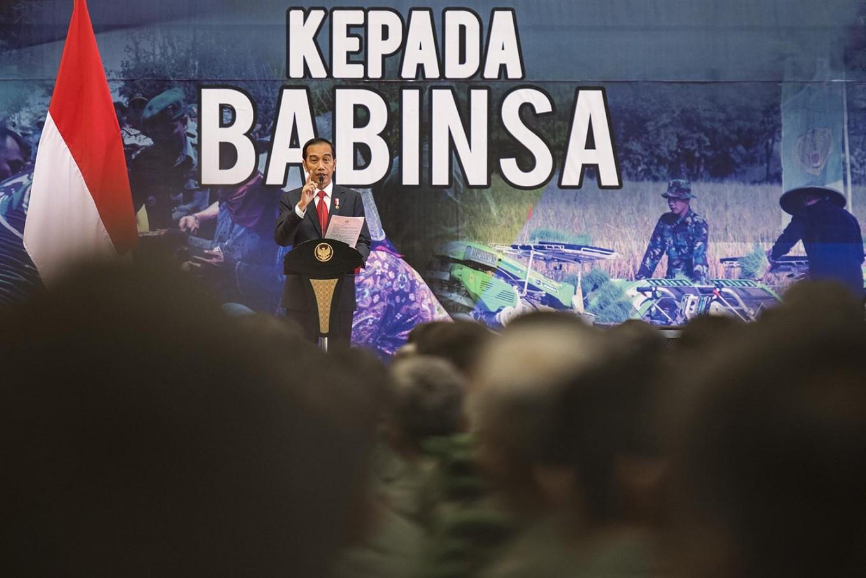 Jokowi praises Babinsa personnel commitment