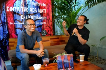 Eka Kurniawan, Eko Nugroho shed light on 'Love Knows No End'