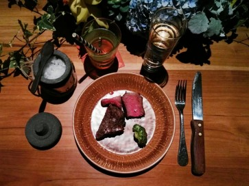 US chef Jay McCarthy grills special steak in Jakarta