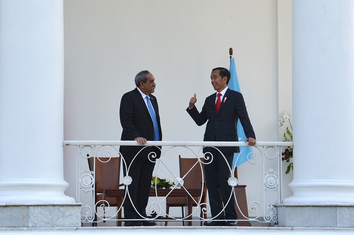 RI to boost bilateral ties with Micronesia, offers N219 aircraft