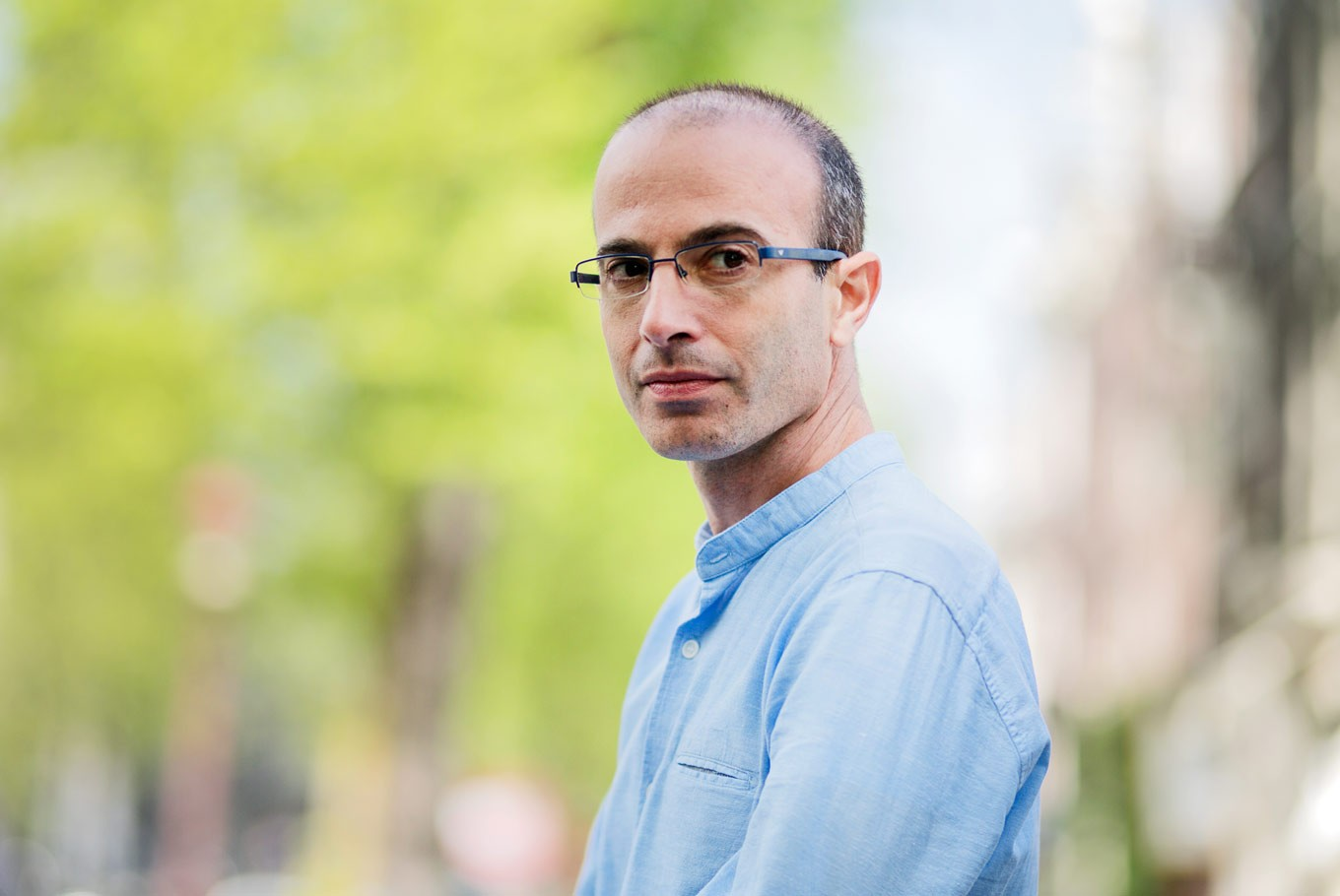 Yuval Noah Harari: '21 Lessons' from data, meditation to AI and 'Black Mirror'
