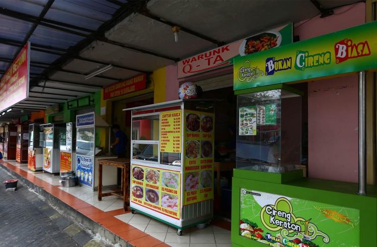 Pasar Modern Bintaro hosts a wide range of food choices.