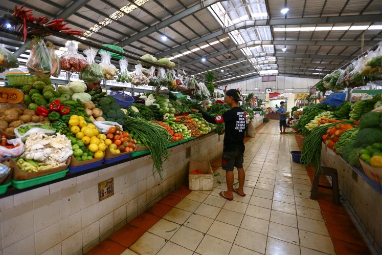 Fresh produce, meat, poultry and seafood are available in abundance in the market hall