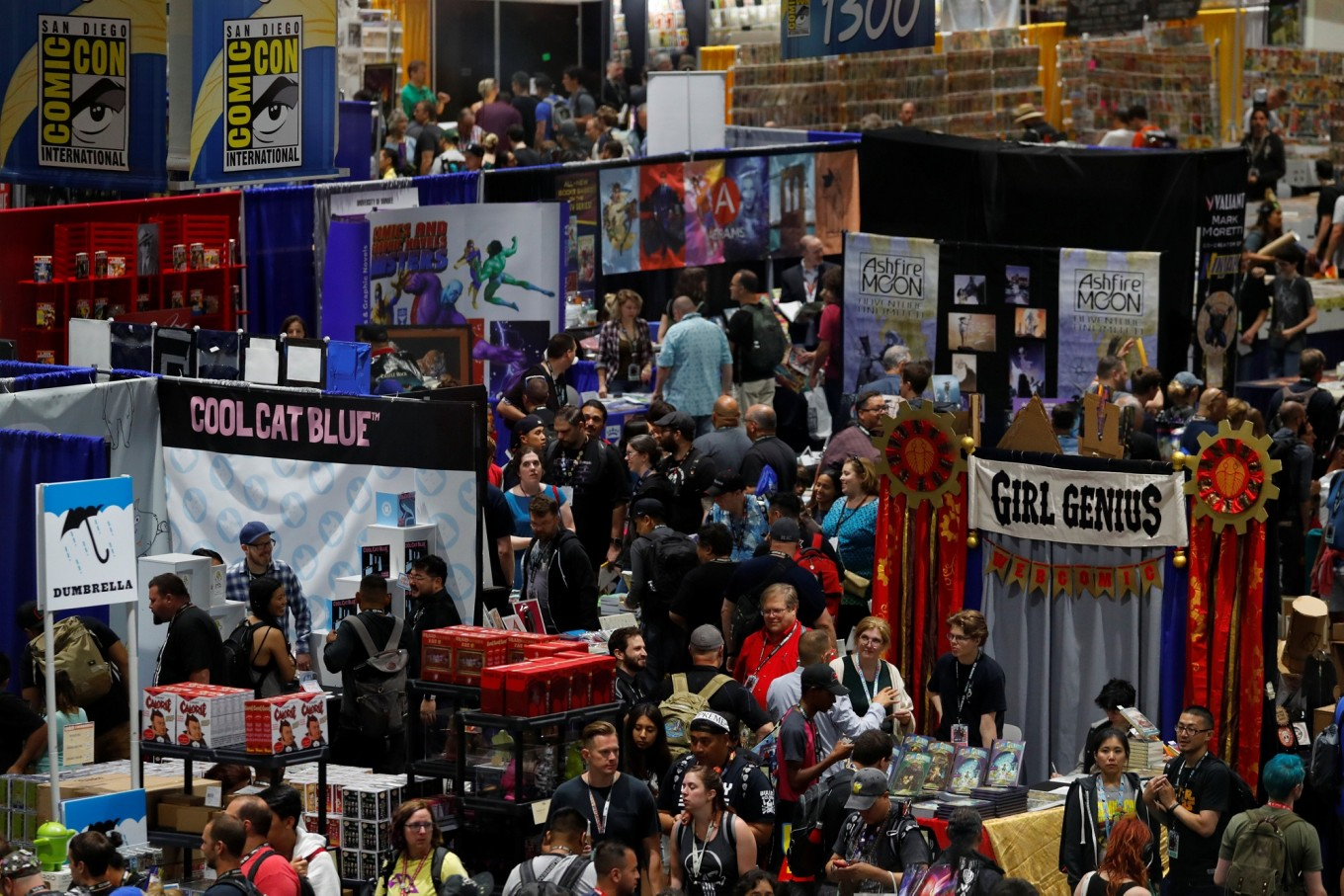 Comic-Con hits 50: From hotel basement to Hollywood hangout