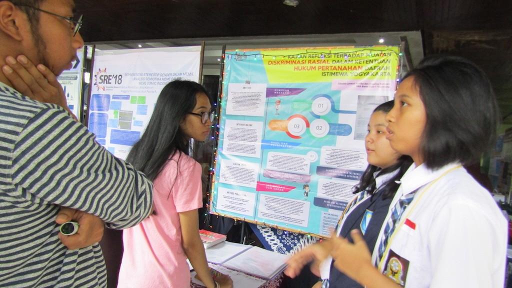 High school students speak out against Yogyakarta's land law