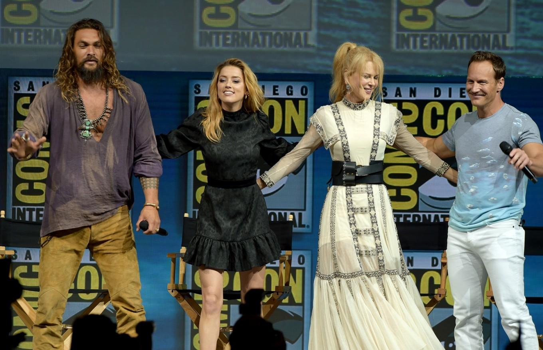 Warner Bros. superheroes swoop into Comic-Con