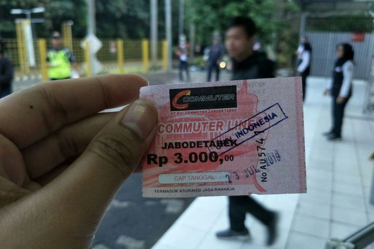 Commuter line e-ticketing service back to normal