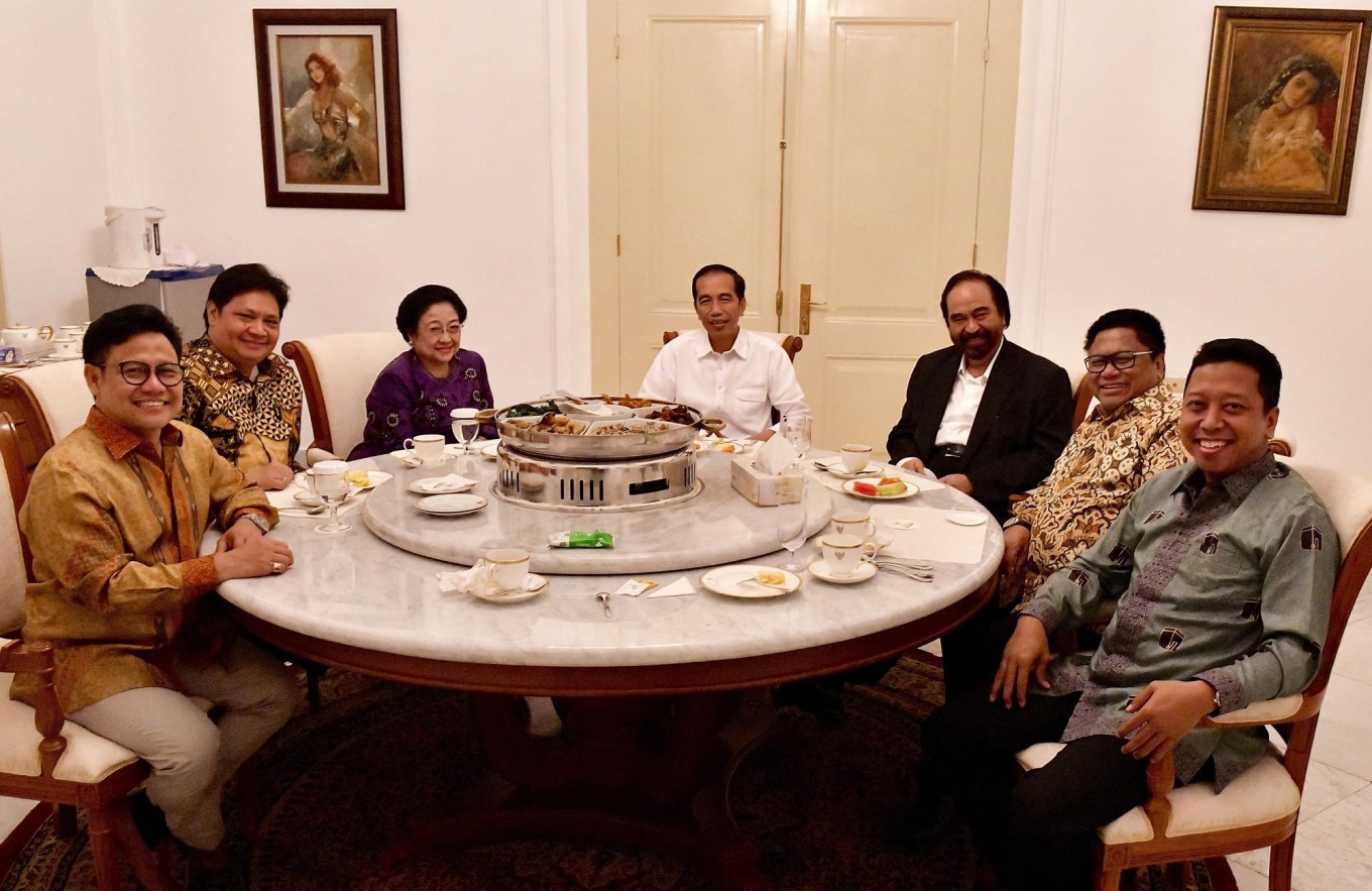 Jokowi coalition agrees on VP candidate