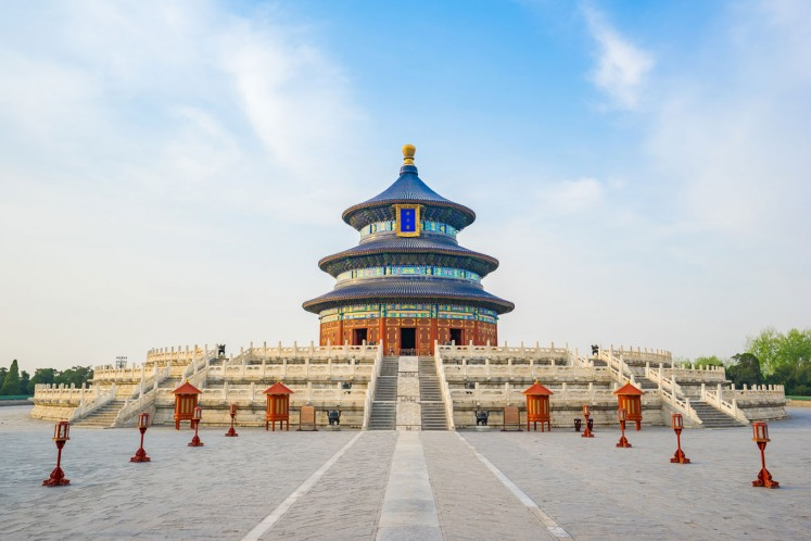 The Temple of Heaven is one of China's most iconic landmarks.