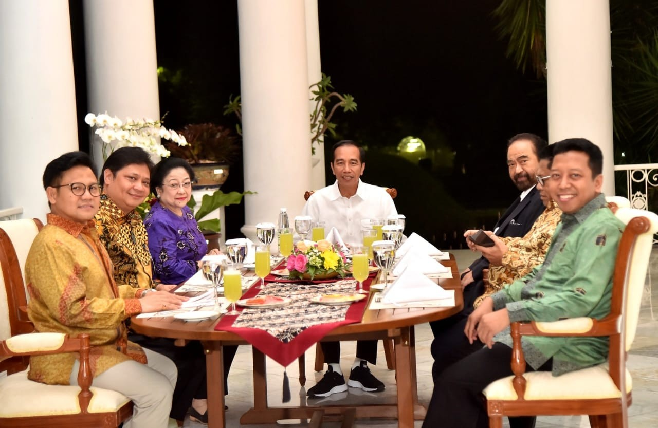 Jokowi's coalition is 'one step ahead' of opposition