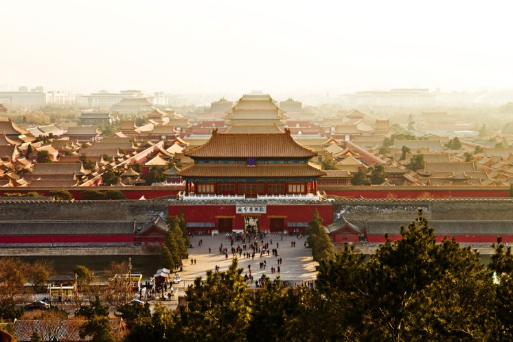 The Forbidden City, also known as the Palace Museum, is located in the Chinese capital of Beijing.