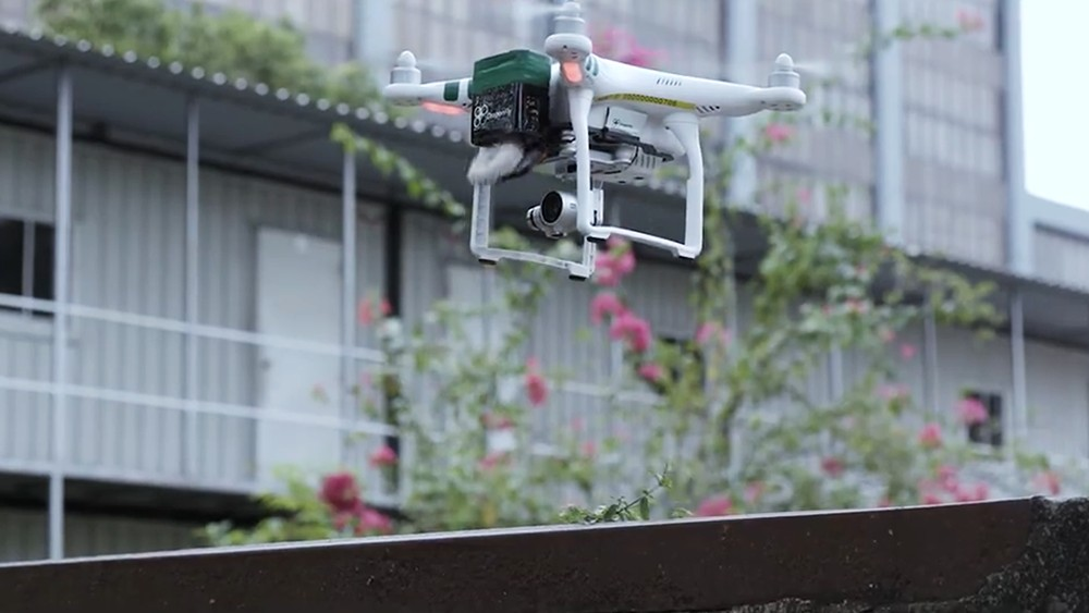 Singapore may use drones to deliver medicine, for security