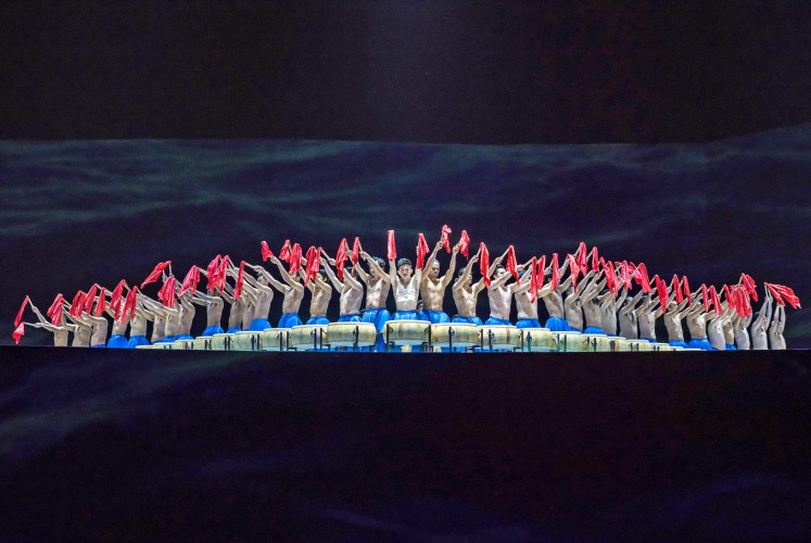 Spirited: Some 200 local performers are involved in Encore Melaka.