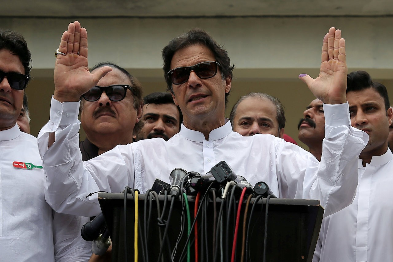 Imran wants to build trust-based relationship with US
