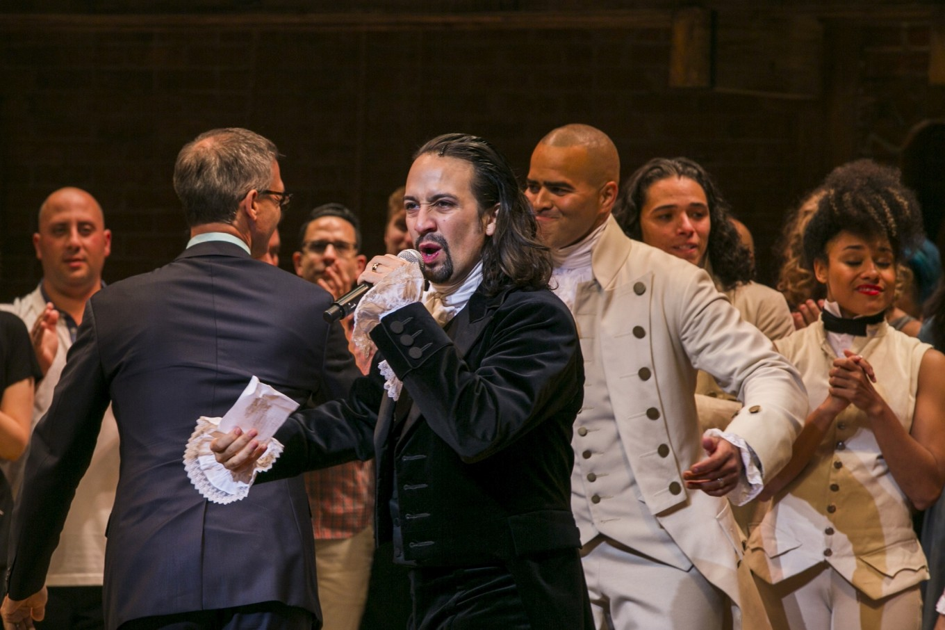 Broadway smash 'Hamilton' comes to Disney+ amid US reckoning on racism
