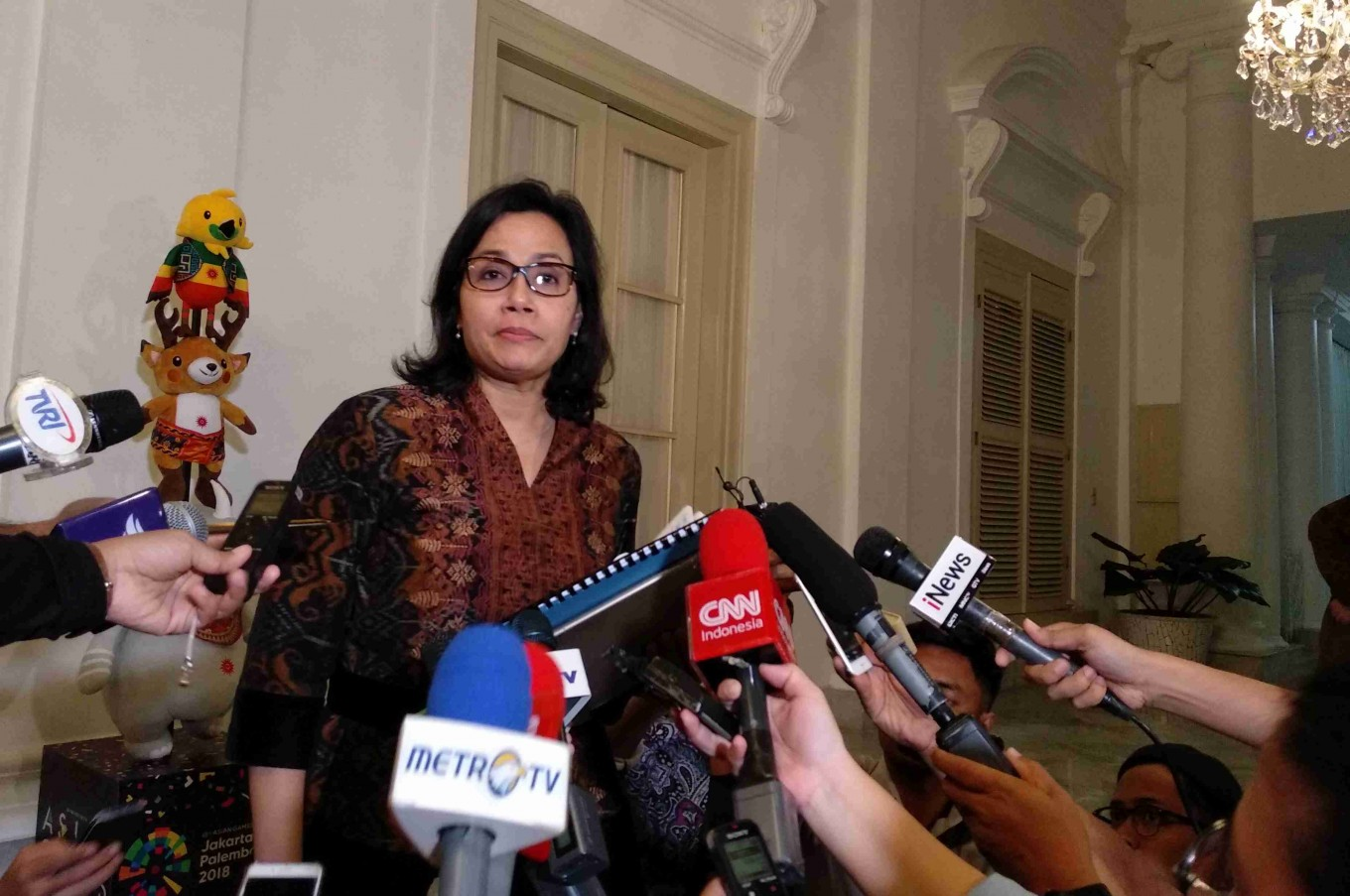 Sri Mulyani declines position on Jokowi's campaign team