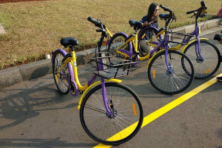 Jakarta administration launches bike-sharing service