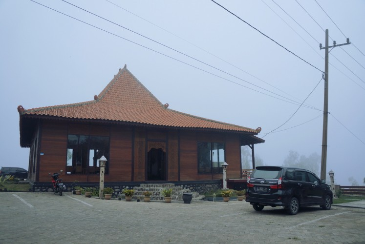 Bawangan Bromo restaurant that specializes on Indonesian cuisines.