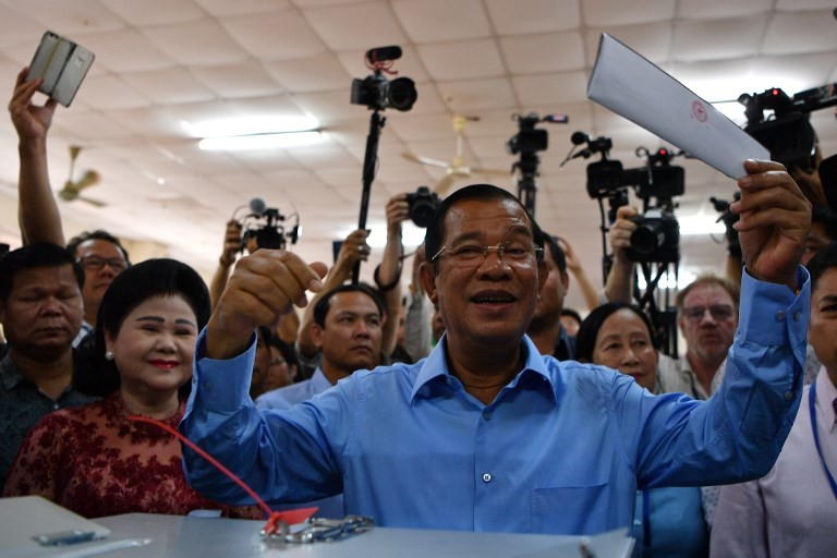 Cambodia strongman Hun Sen swears to die if vote numbers inflated