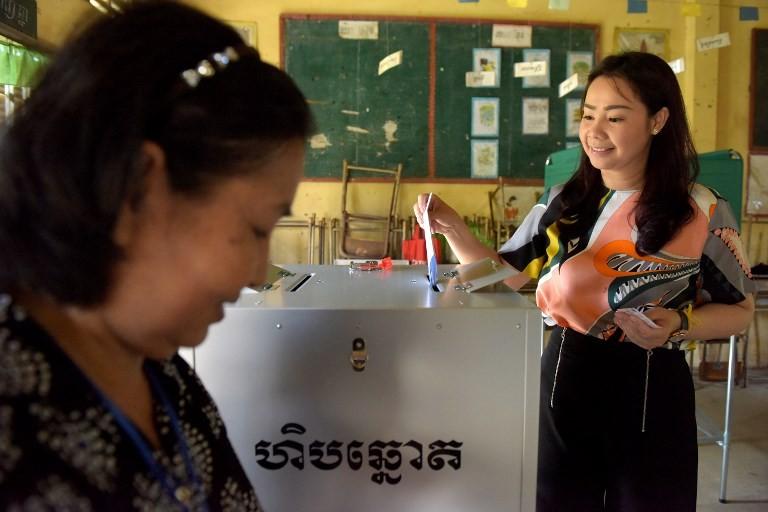 Cambodia's election runs well, proper: Observer