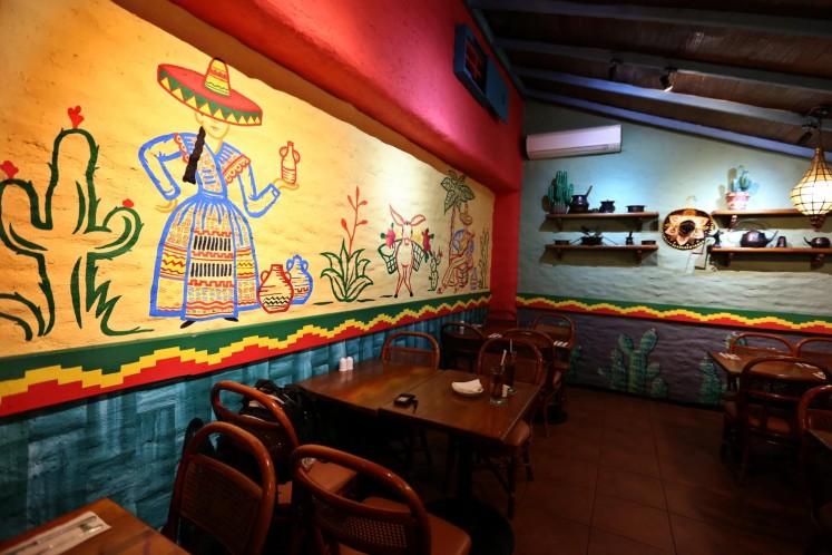 Amigos restaurant.