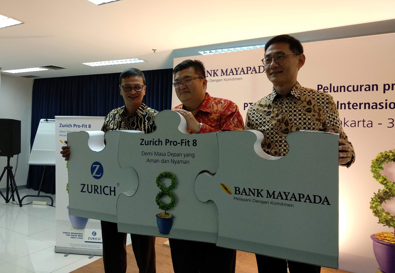 Zurich Topas Life, Bank Mayapada team up to sell endowment policy