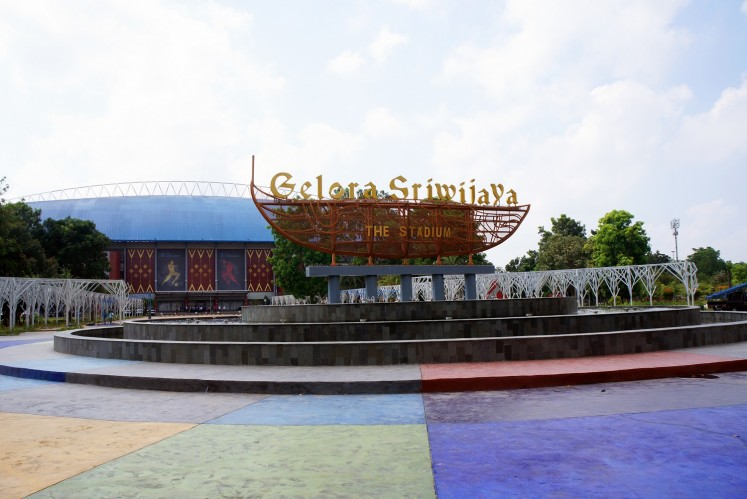 Jakabaring Sport City (JSC) in Palembang, South Sumatra, also known as Gelora Sriwijaya, will host various competitions, such as sport climbing, soft tennis, beach volleyball, roller sport: skateboarding, rowing, women football, and more.