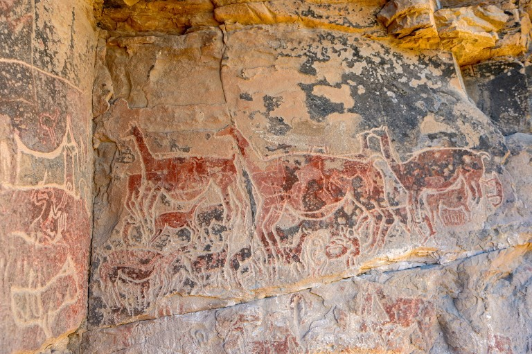 Chile's rock art llamas divulge secrets of ancient desert culture