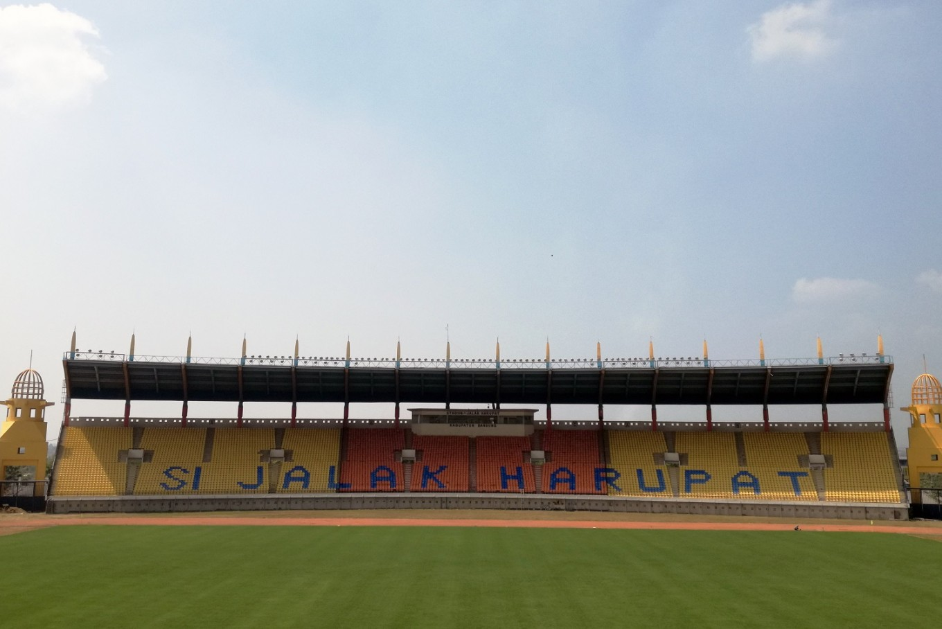 Si Jalak Harupat Stadium in Bandung, West Java, is among the venues for men's soccer at the 2018 Asian Games.