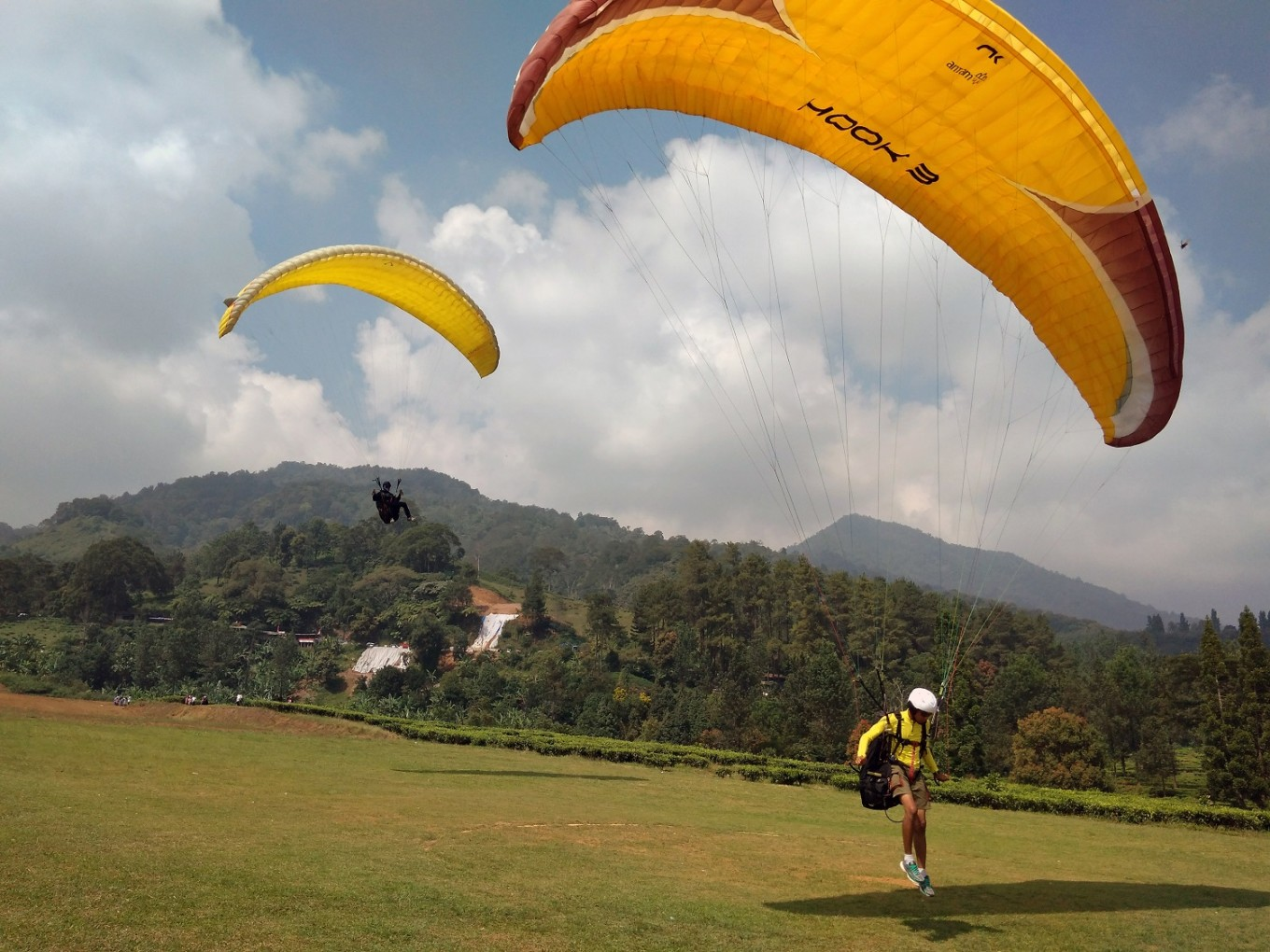 The paragliding competition is set to take place on Gunung Mas in Puncak, Bogor.