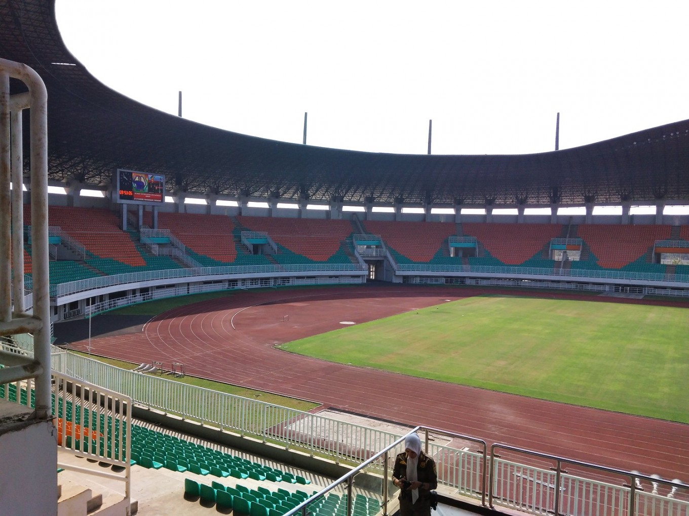 Pakansari Stadium in Cibinong, Bogor, will host the semifinal and final of men's soccer.