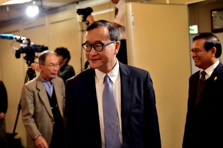 One-party rule 'terrible setback' for Cambodia: Opposition chief