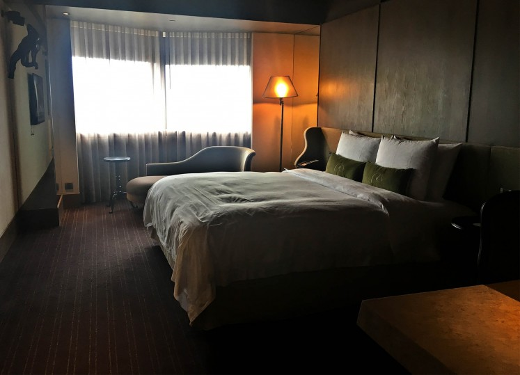 A room at Palais de Chine hotel.