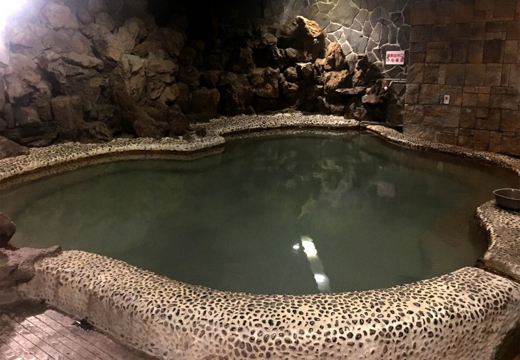 Hot springs can be found at Atami Hotel.