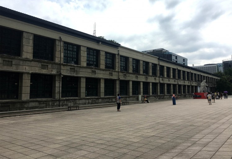 A former tobacco factory (pictured) has been preserved and is now a hub of creative and cultural activities.