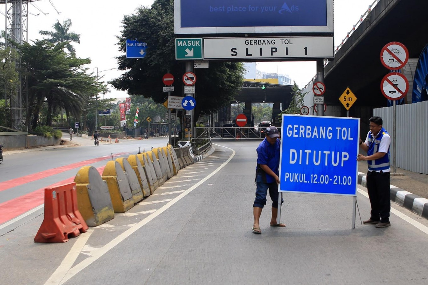 Jakarta drops plan on tollgates closure during Asian Games
