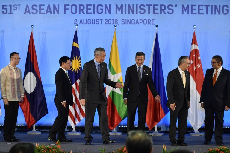 ASEAN Foreign Ministers Meeting kicks off amid rising protectionism